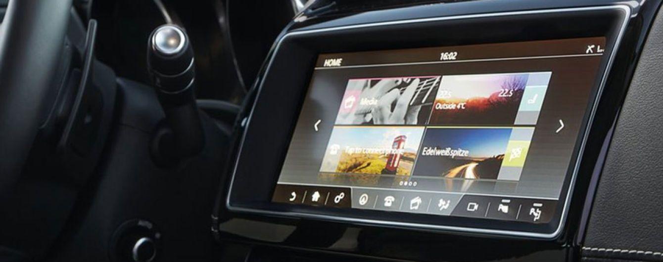 BlackBerry разработает для Jaguar новый интерфейс мультимедии