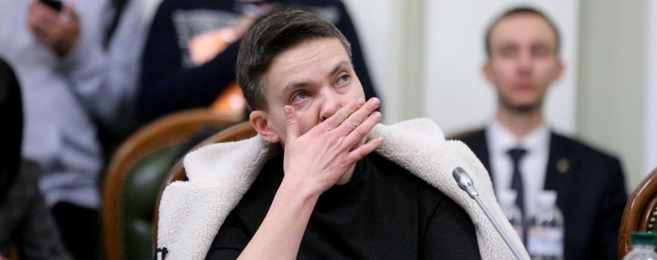 Допрос Савченко на полиграфе не дал результатов из-за голодовки