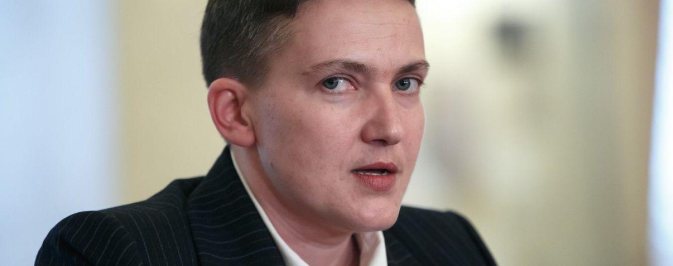 Савченко за 20 дней голодания похудела на 15 килограмм