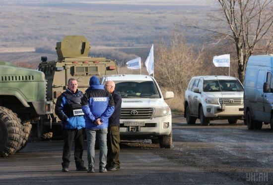 На Луганщині біля патрулів ОБСЄ пролунав вибух