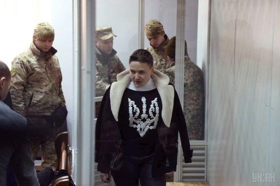 """""""Треба міняти систему влади"""" і """"До зустрічі на волі"""": як Савченко сприйняла арешт на два місяці"""