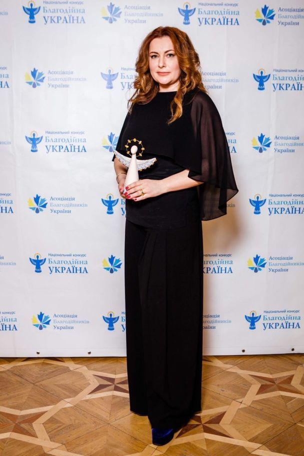 """Благотворительный фонд """"Ты не один"""" получил первую национальную награду"""