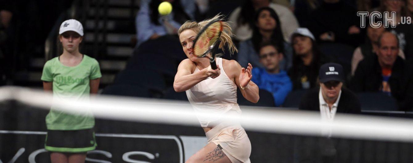 Свитолина с разгромной победы начала турнир WTA Premier в Мадриде