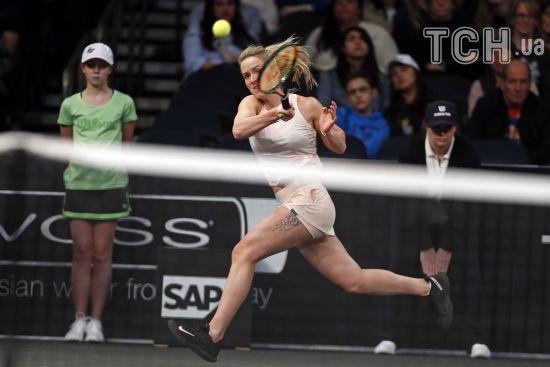 Світоліна з розгромної перемоги розпочала турнір WTA Premier у Мадриді