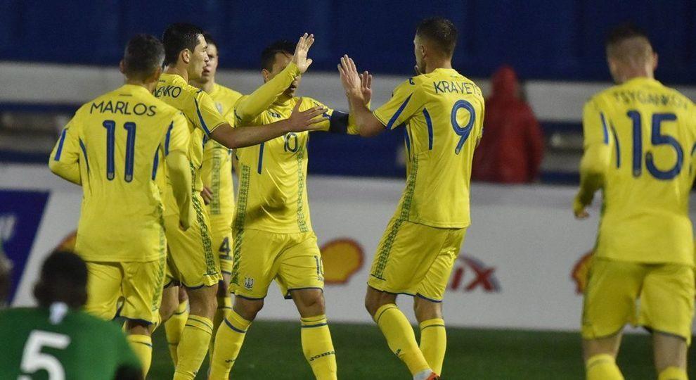 Збірна України не змогла виграти перший матч 2018 року