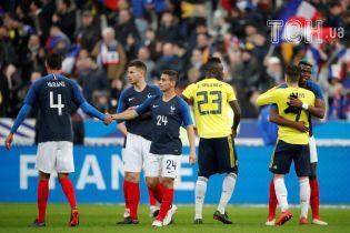 Збірна Колумбії здобула вольову перемогу над Францією, Лемар забив розкішний гол