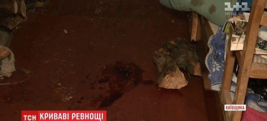 На Київщині ревнивий чоловік зарізав дружину і намагався вбити себе