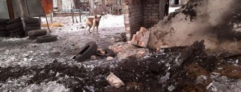 Последствия обстрела Авдеевки. В штабе АТО показали фото разбитых домов