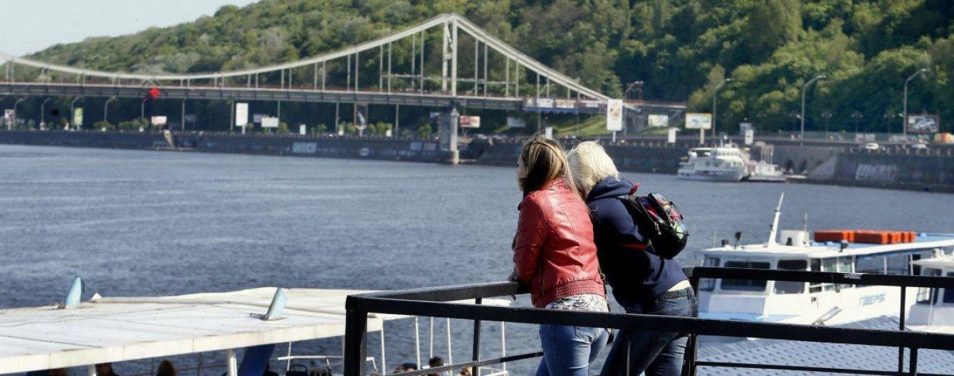В Киеве запустят речной трамвай