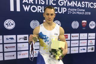 Гимнаст Радивилов сделал золотой дубль на Кубке мира