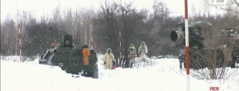Неподалеку украинских границ Россия потренировалась отражать химическую атаку