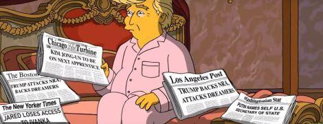 """У нових """"Сімпсонах"""" посміялися над Трампом, а Путіна """"проголосили"""" держсекретарем США"""