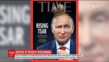 Неделя после переизбрания Путина прошла для России в очередном обострении с Западом