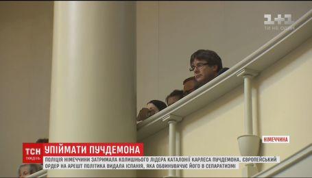 Немецкая полиция задержала экс-лидера каталонцев Карлоса Пучдемона