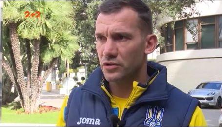 Почему Андрей Шевченко остался недоволен игрой сборной Украины