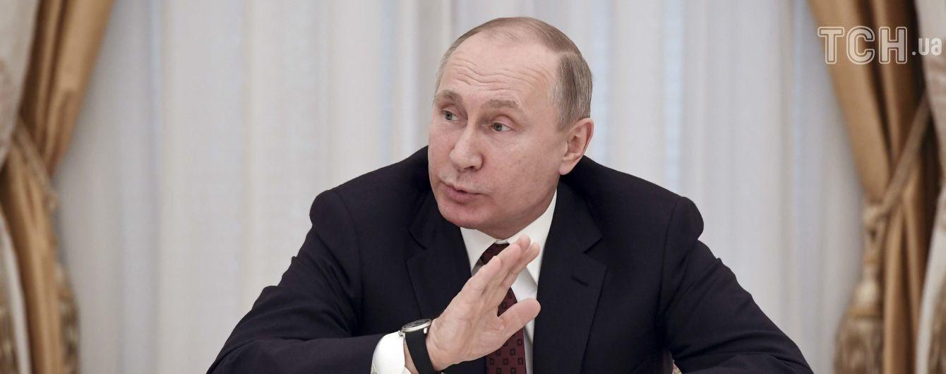 """Путин назвал условия решения """"украинской проблемы"""""""