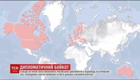 Австралія висилає російських дипломатів з країни