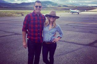 Счастливы вместе: Риз Уизерспун опубликовала милое фото со своим мужем