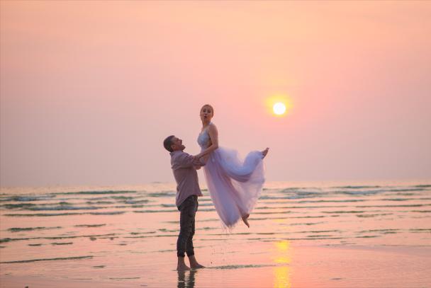 Тайське весілля Матвієнко та Мірзояна: ведучий-українець і танець під пісню Ніни Митрофанівни