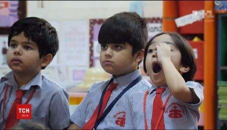 В ОАЭ дети начинают учиться в школе в 3,5 года