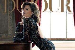 В кружевном платье с обнаженной спиной: сексуальная София Вергара позировала для обложки глянца