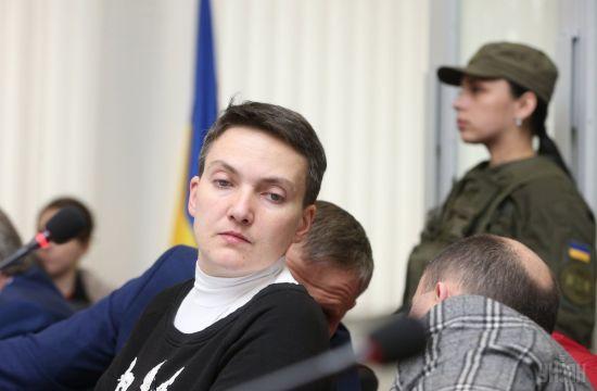 """Савченко завершила експертизу на """"детекторі брехні"""""""