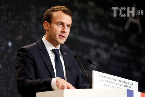 У Франції є докази того, що за хіматакою в Сирії стоїть Асад - Макрон