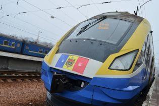 Оновлений швидкісний потяг Одеса-Кишинів зробив перший рейс