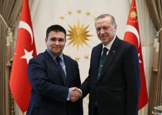 Клімкін зустрівся із президентом Туреччини Ердоганом