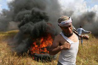На границе между Израилем и Сектором Газа в результате столкновений погибли 15 палестинцев