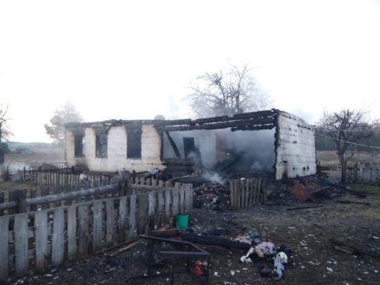 На Житомирщині двоє маленьких дітей згоріли заживо у власному будинку