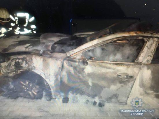 Слідів підпалу не виявлено. У поліції назвали причину пожежі під Києвом, в якій згоріло п'ять автівок