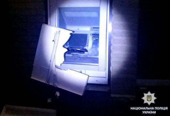 У Харкові невідомі підірвали і пограбували банкомат у магазині дитячих іграшок