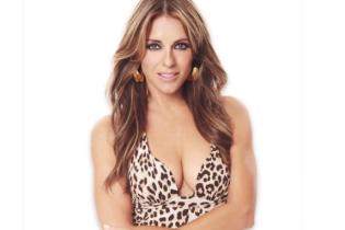 Сексуальная и эффектная: Элизабет Херли в купальниках с леопардовым принтом