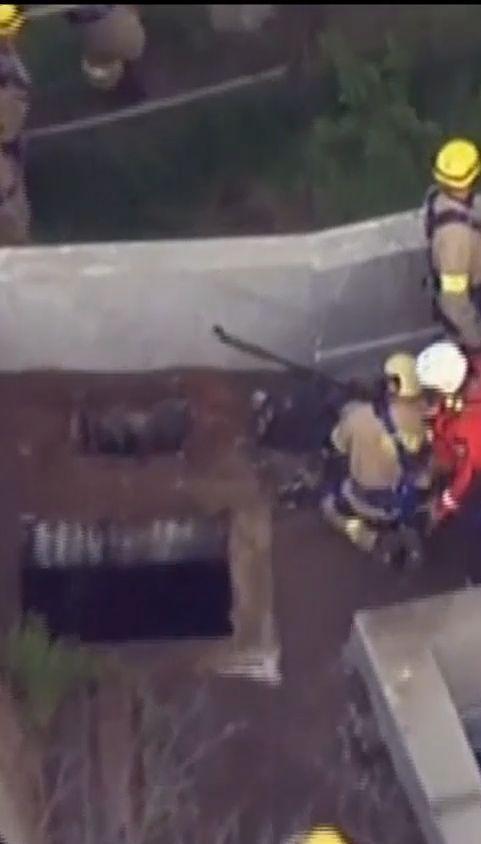У США рятувальники півдоби шукали хлопця, який провалився у каналізацію