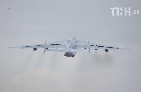 """Гігант """"Мрія"""" вперше за останні півтора року полетів у комерційний рейс"""