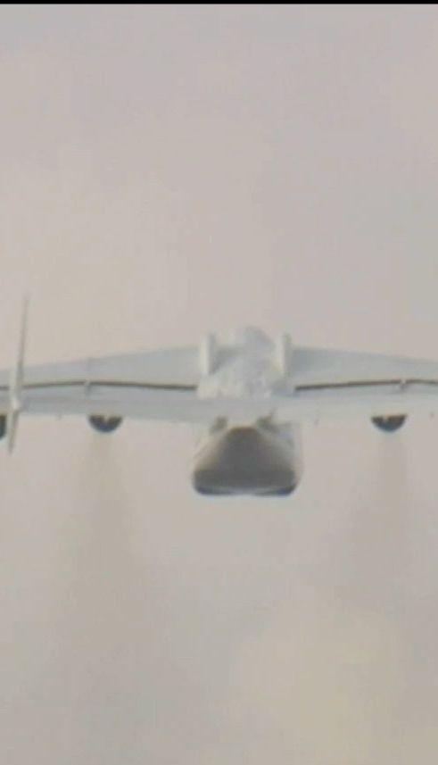 """Самолет """"Мрия"""" впервые за последние полтора года полетел в коммерческий рейс"""