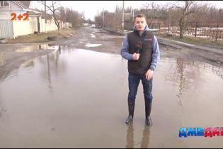 В селе Новая Знаменка не ремонтировали дорогу 25 лет