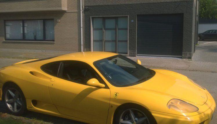 Ferrari 360 Modena Giallo