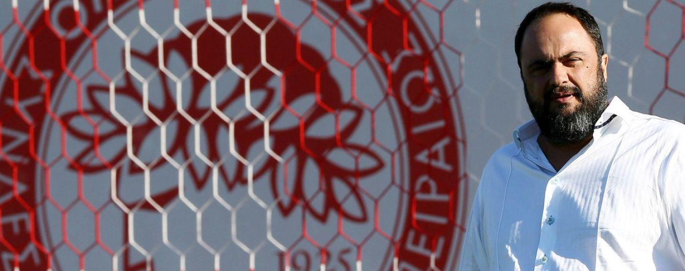 Власник грецького клубу оштрафував футболістів після нічиєї та третього місця у чемпіонаті