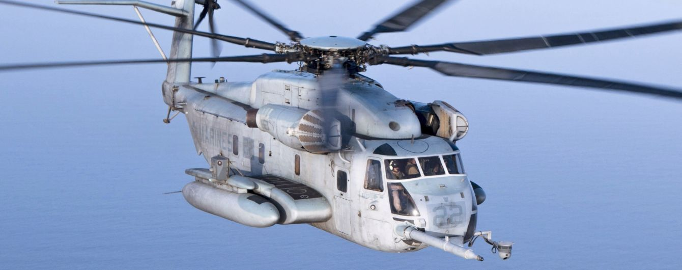 В Калифорнии разбился военный вертолет. Есть погибшие