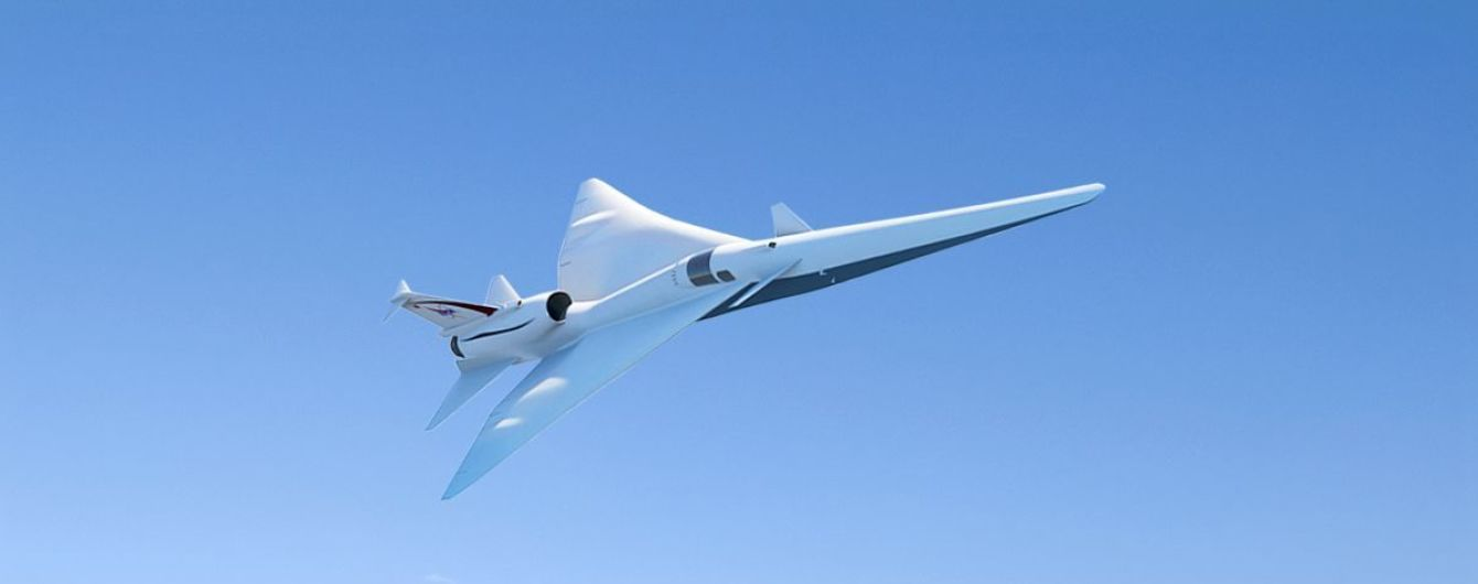 NASA оголосила про розробку тихого надзвукового літака