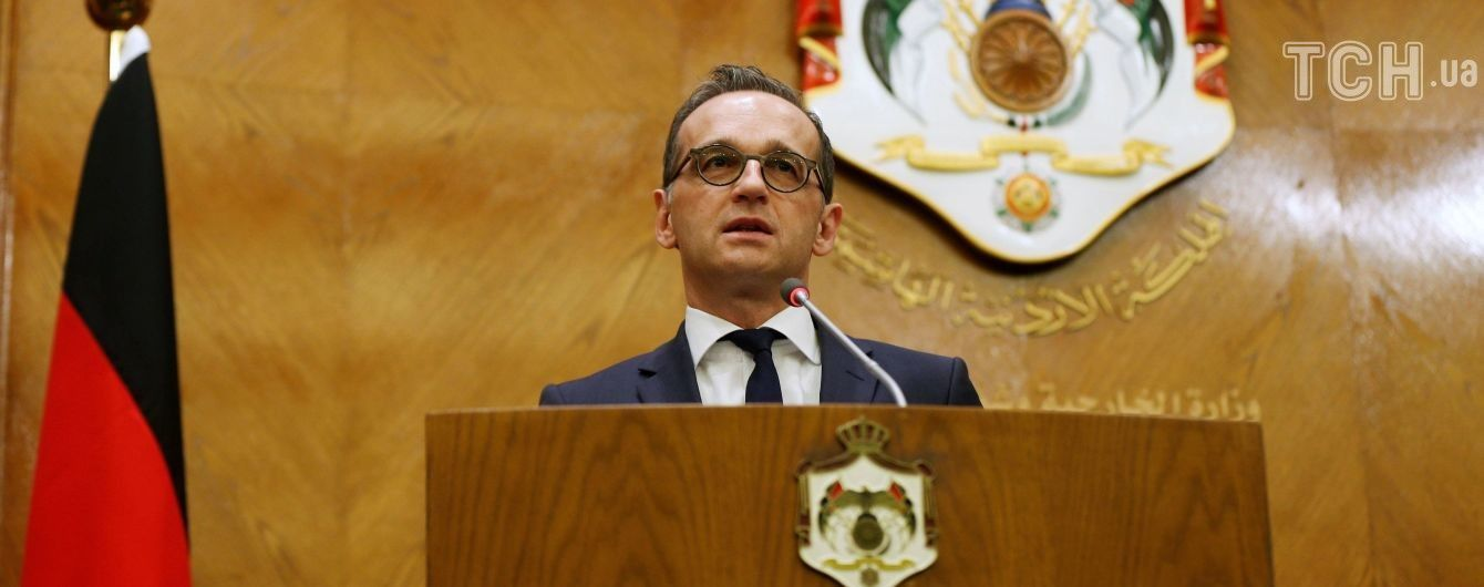 Голова МЗС Німеччини вимагає об'єднаної реакції світу на хіматаку у Сирії і посилення тиску на Росію