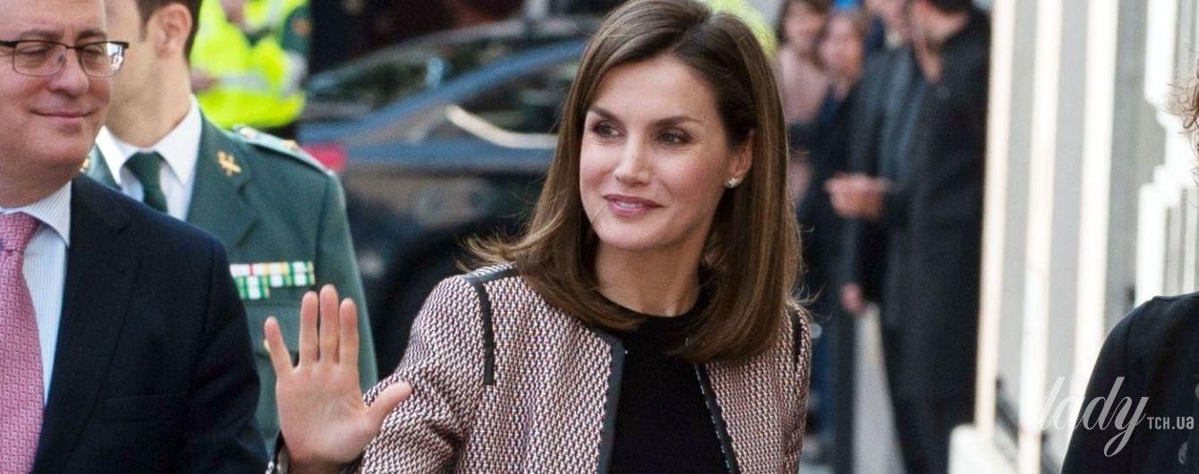 Первый выход после скандала: королева Летиция вышла на публику с широкой улыбкой