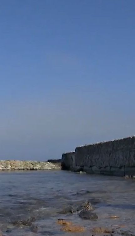 Одеські пляжі після шторму опинилися під водою