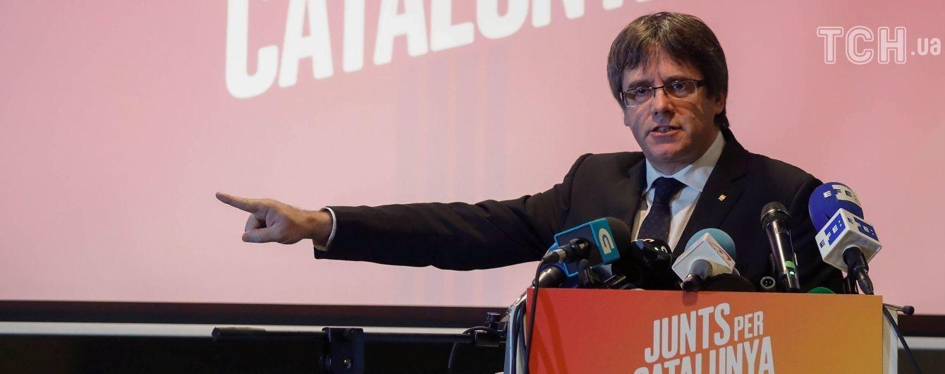 В Германии освободили из-под стражи лидера каталонских сепаратистов Пучдемона