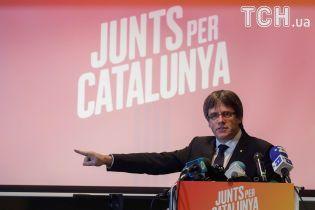 У Німеччині звільнили з-під арешту лідера каталонських сепаратистів Пучдемона