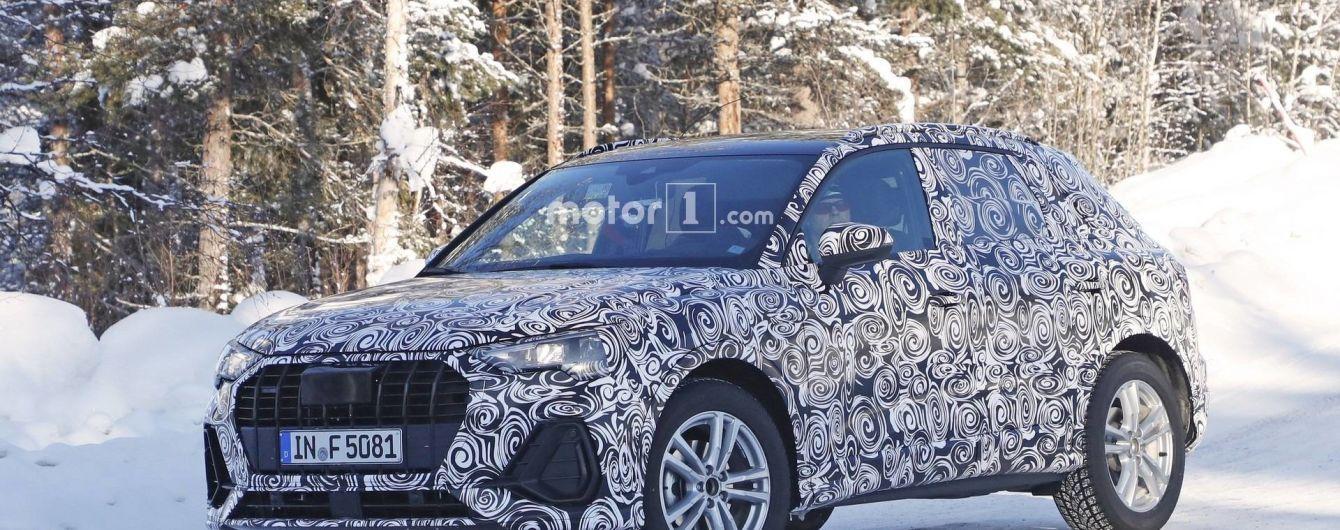 Кроссовер Audi Q3 показал свои внутренности