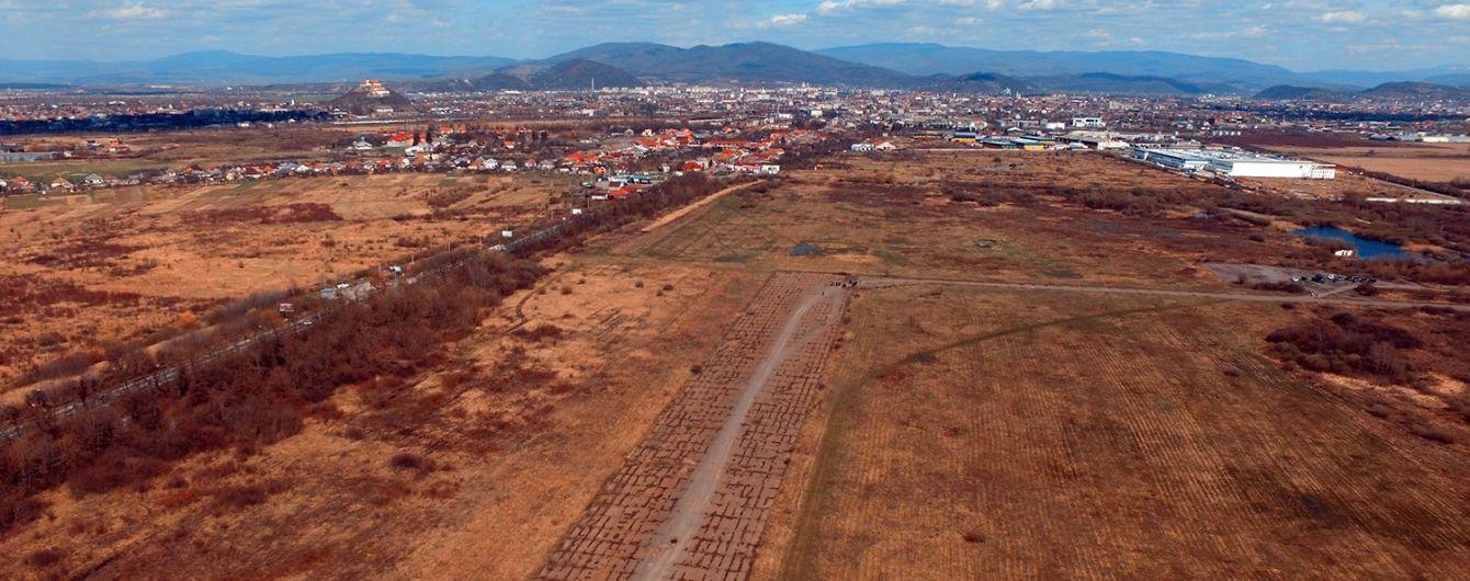 На Закарпатье хотят построить новый аэропорт
