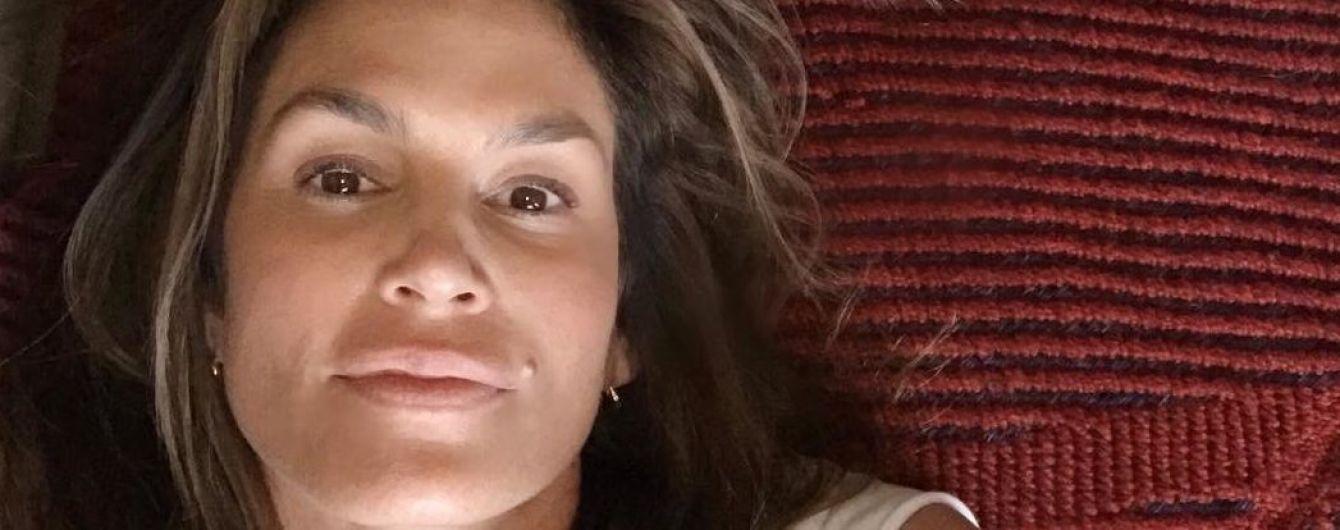 Совсем без макияжа: 52-летняя Синди Кроуфорд показала свою естественную красоту